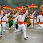 Maharashtra Day 2018 marks with Parades, Political Speeches and Ceremonies at Shivaji Park, Mumbai