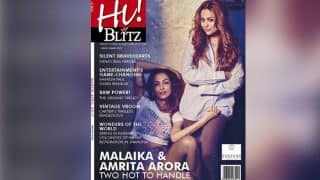 Malaika Arora Khan and Amrita Arora Ladak scorch temperatures as Hi! BLITZ cover girls! (View Pics)