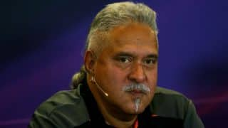 Vijay Mallya mulls dropping 'India' from the name of his Formula One team
