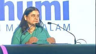 Maneka Gandhi blames movies for rising violence against women