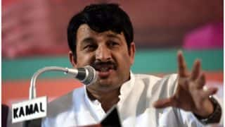 Delhi BJP chief Manoj Tiwari demands probe on Rs 2 crore corruption allegation, asks Arvind Kejriwal to resign