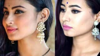 Get Naagin actress Mouni Roy inspired makeup look! Watch video