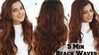 Step-by-step guide to get the perfect summer beach waves using a curling wand
