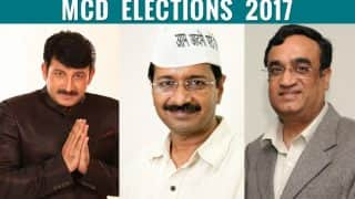 MCD Election Results 2017: A fight for second spot between Congress and AAP