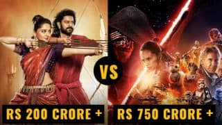 Bahubali 2 First Day Box Office Collection Report vs All Time Highest Opening Day Grossing Hollywood Movies - Baahubali 2: The Conclusion is still no match!