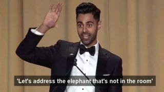 Indian-American comedian Hasan Minhaj roasts President Donald Trump at White House Correspondents' Dinner