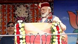 PM Narendra Modi sounds poll bugle in Shimla, says winds of UP, Uttarakhand, Delhi now coming to Himachal Pradesh
