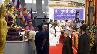 Narendra Modi pays tribute to B R Ambedkar at Deekshabhoomi Nagpur, launches BHIM-Aadhaar app & Koradi Thermal Power Station