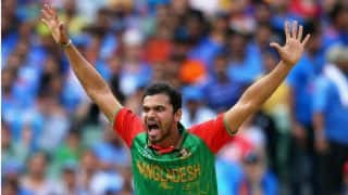 Mashrafe Mortaza announces retirement from T20 internationals