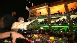 Prime Minister Narendra Modi leads roadshow in Surat after winning UP Elections: 10 Points