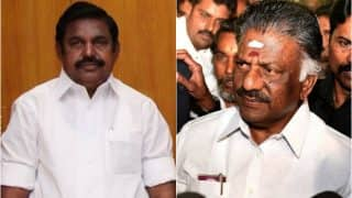 AIADMK merger on cards? E Palanisamy and O Panneerselvam camps to begin talks today