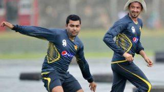 जब एक दूसरे को 'झूठा' बता भिड़े पाकिस्तानी क्रिकेटर उमर अकमल-जुनैद खान, देखें वीडियो