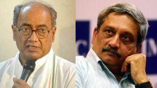 दिग्विजय सिंह ने पर्रिकर को सुनाई खरी-खरी, कहा सरकार बनाकर गोवा के लोगों के साथ किया धोखा