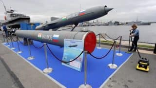 नौसेना ने किया ब्रह्मोस सुपरसोनिक मिसाइल का सफल परीक्षण