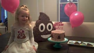 This 3-year-old had a poop-themed birthday party and the pictures are really cute!