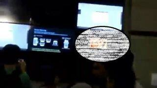 Porn clip played on screen at Rajiv Chowk metro station; video goes viral
