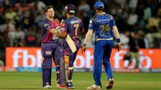 IPL 2017: पुणे सुपरजाएंट ने मुंबई इंडियंस को 7 विकेट से हराया, स्मिथ, रहाणे और ताहिर चमके