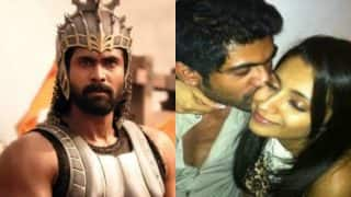 Baahubali 2 actor Rana Daggubati REACTS to his viral picture kissing Trisha Krishnan!