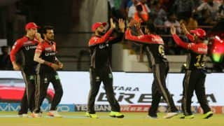 IPL 2017: बैंगलोर ने तोड़ा हार का सिलसिला, गुजरात को 21 रनों से हराया