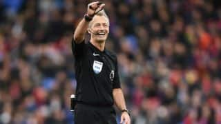 Premier League 2016-17: Martin Atkinson to officiate Manchester Derby on Thursday