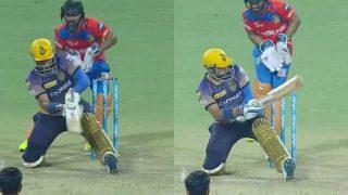IPL 2017: रॉबिन उथप्पा ने खेला ऐसा 'शॉट', देखने वाले हुए हैरान!