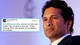 World Parkinson's Day 2017: Sachin Tendulkar shares a thoughtful quote on the degenerative disorder!