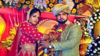 Sakshi Malik and Satyawart Kadian wedding: Virender Sehwag, Saina Nehwal, Dipa Karmakar, Deepa Malik wish wrestlers a happy married life!