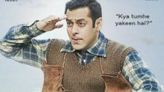 Excited Salman Khan showed the Tubelight poster FIRST to this actress- Read EXCLUSIVE deets