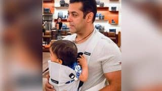 Salman Khan's latest pic with nephew Ahil confirms that he will be a perfect dad!