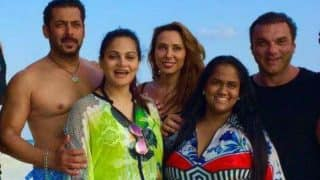 Salman Khan and Iulia Vantur spotted holidaying in Maldives! View pictures