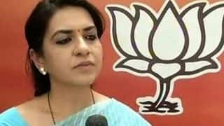 BJP spokesperson Shaina NC registers complaint with Mumbai Police against Facebook troller