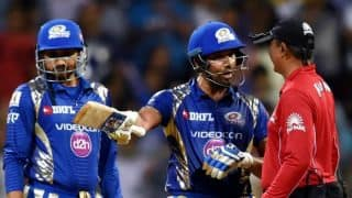 IPL 2017: Was Rohit Sharma's dissent over non-wide right?