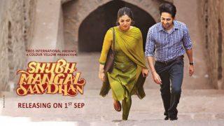 Shubh Mangal Saavdhan FIRST poster: Ayushmann Khurrana-Bhumi Pednekar all set to renew their Dum Laga Ke Haisha magic!