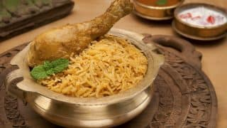 Chicken Biryani is India's most popular dish ordered online: Top 6 Indian cities and their favorite dishes