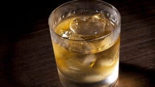 DIY Cocktail Recipe: How to make Red Label Gold Coin whiskey and wine cocktail (Watch Video)