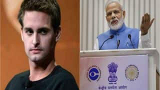 Snapchat CEO allegedly calls India a poor country and we outraged! PM Narendra Modi called us poor too, reminds twitterati