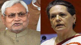 Sonia, Rahul Gandhi Make Two Calls to Nitish Kumar in 24 Hours; Congress Treading Cautiously to Save Mahagathbandhan?