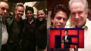 Shah Rukh Khan chills with Hollywood biggies Warren Beatty and Brett Ratner during Ted 2017 visit (View pics)