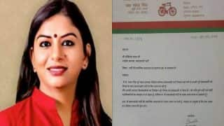 Samajwadi Party women's wing president Shweta Singh resigns, says unhappy with behavior of party leaders