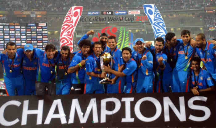 File picture of India World Cup squad 2011.