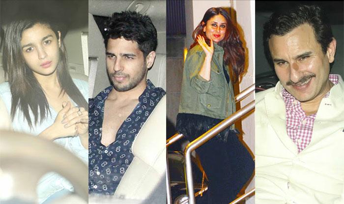 SEE PICS: Lovebirds Alia Bhatt-Sidharth Malhotra party together with Priyanka Chopra