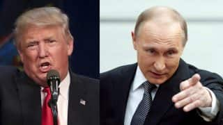 Trump to hold talks with Putin today