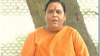 उमा भारती बोलीं, अयोध्या के लिए जान भी देने को तैयार हूं