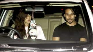 Tiger Shroff and rumoured girlfriend Disha Patani go on a SPIN (see HQ pics)