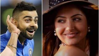 Anushka Sharma Cheers For Husband Virat Kohli as He Scores Century Against South Africa, See Photos