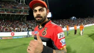 IPL 2017: Will only return when 120 percent fit, says Virat Kohli