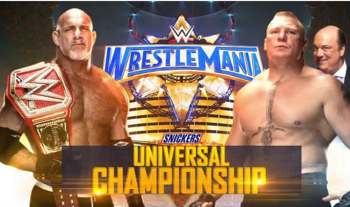 WWE WrestleMania 33 Results Highlights Brock Lesnar Defeats