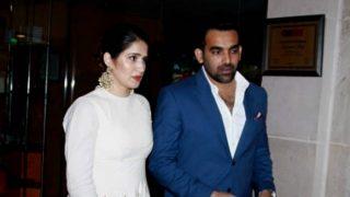 Zaheer Khan announces engagement with Sagarika Ghatge