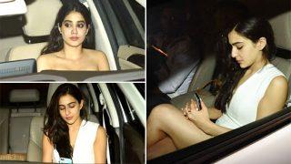Karan Johar birthday bash: Star kids Aryan Khan, Sara Ali Khan, Jhanvi Kapoor play the perfect stunners