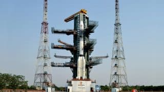 South Asia satellite (GSAT-9) launch from Sriharikota